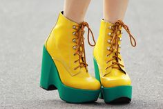 #GoDucks oregon ducks, duck fever, green, yellow, shoe, bright colors, duck duck