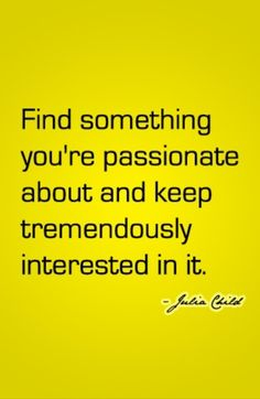 I'm passionate about my job! #quote
