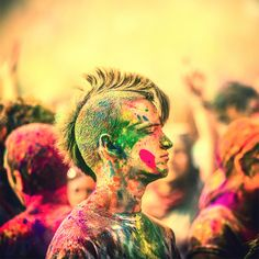Holi Festival of Colors by Thomas Hawk