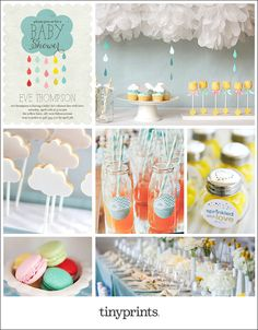 Sprinkle Baby Shower Inspiration Board on the Tiny Prints blog today #baby