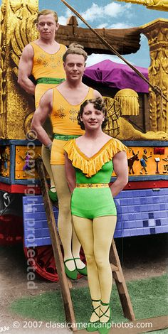The Flying Concellos Stars of the Ringling Bros, Barnum & Bailey Circus, 1939 by Melvin Hale