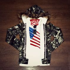 Nothing screams AMERICA more than Red, White & Blue and CAMO! www.gwgclothing.com
