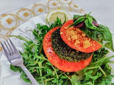 Excalibur Dehydator Raw Food Recipes. The Holy Kale's Raw Vegan Burgers with Tomato Caprese Salad. These are DELICIOUS!