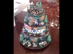 G.I. Joe birthday cake