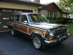 Grand Wagoneer - what else are you going to drive to the country store in the winter?