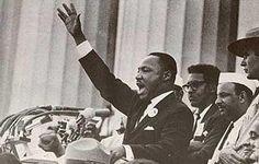 """Martin Luther King (1963): Discurso en Washington: """"Tengo un sueño""""."""
