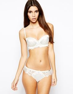 Image 4 of Ultimo Bridal Satin And Lace Multiway Bra