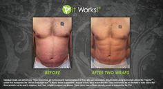 Can't leave the guys out from awesome results!  https://wrapmeskinnywithbeth.myitworks.com
