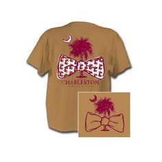College Of Charleston Bow Tie T- Shirt