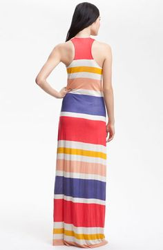 Striped Maxi Dress - Perfect for beach.