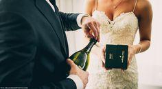 thompson hotel, bride, groom