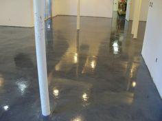 basement reno, epoxy basement floor, basement flooring, basement idea, beauti basement