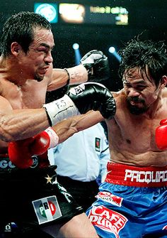 Manny Pacquiao! Time to prove who the real winner is!  Go Manny!!