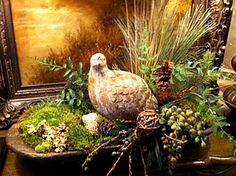 Fall arrangement in a dough bowl decor, dough bowl centerpiece, fall mantles, dough bowls, bread bowls, winter arrang, floral, christma, fall arrangements