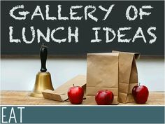 School Lunch Ideas: Lunch Recipes for the Lunch Box