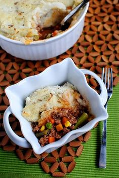 Shepard's Pie with Healthified Mashed Potatoes (that actually taste good!)