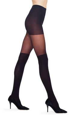 Faux Knee High Tights