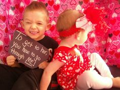 Valentines day brother and sister photoshoot photography