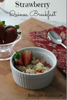 Healthy Recipes: Strawberry Quinoa Breakfast