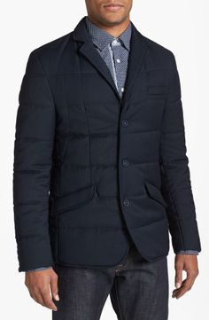 For the Gents - Quilted Jacket