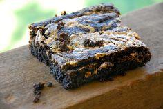 Chocolate Peanut Butter Brownies (Grain-Free)