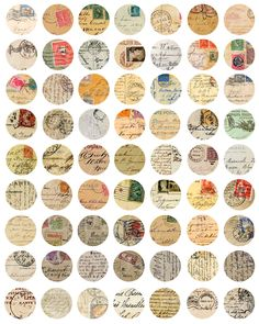 The art of postage stamps.