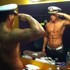 A man in uniform is always sexy