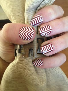 Burgundy Chevron - Only Available until 2/28/2013