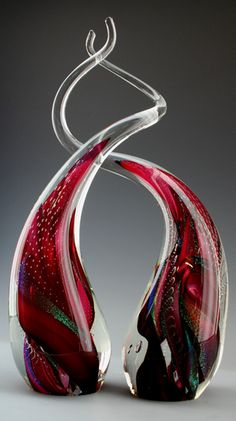 *Art Glass by John McDonald