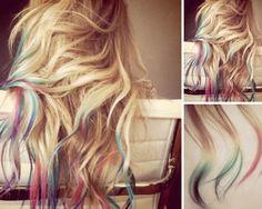 lauren conrad dyed ends