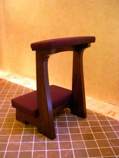 Kneelers on Pinterest | Prayer, Pope Francis and Woodworking
