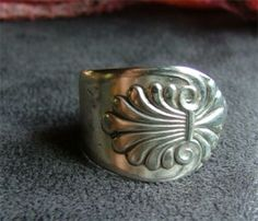 Spoon rings... I had one when I was a young girl and I loved it.