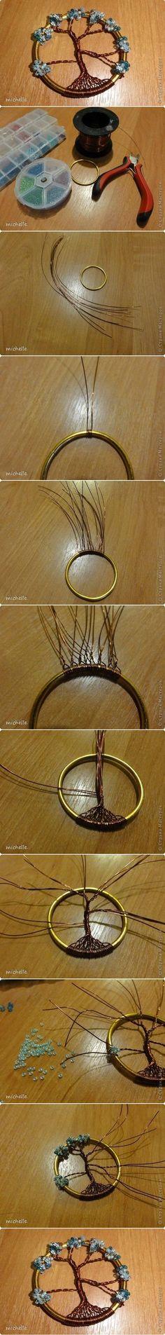DIY Tree of Life. #DIY #Jewelry