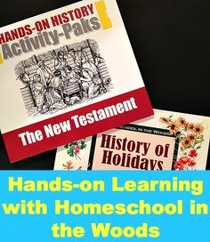 Hands-on Learning with Homeschool in the Woods