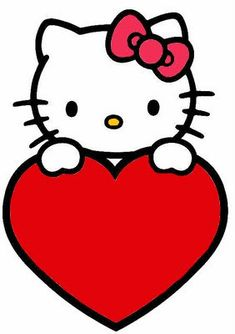 hello kitty with lots of love