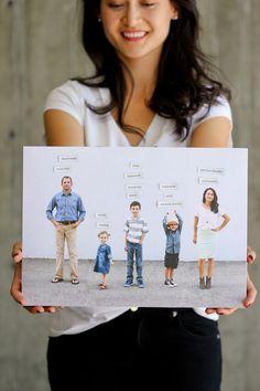 Magnetic Photo Chore Board - Delia Creates