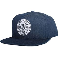 Benny Gold Cheers Denim Snapback Hat (Navy) $31.95