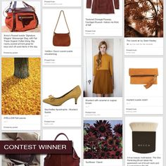 Announcing the winners of the BECCA The One Fall Inspiration Contest: @Carrie Cabral inspired by the colors of fall, from mustard yellow to eggplant.