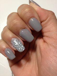 grey & flowers