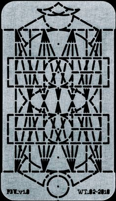 Stencil capable of drawing every letter of the alphabet: uppercase, lowercase, numbers, and punctuation. Based on a stencil invented by Joseph A. David in 1876. Created by Dries Wiewauters and James Goggin.