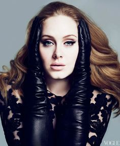 Adele in Vogue - love everything about her
