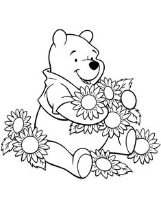 winnie the pooh coloring pages, winnie the pooh printables