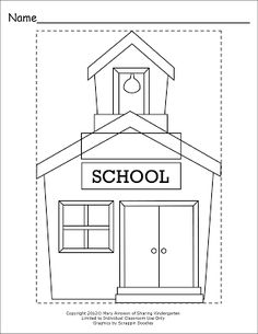 Grab this FREEBIE activity to do on the FIRST day of school to see who can write their name, color in the lines, and cut out. PLUS use this for your scrapbooks. school