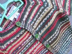 Louise Knits: Top down cardigan - no seams - Womens size M