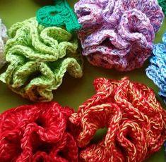 Unusual Flowers in Crochet