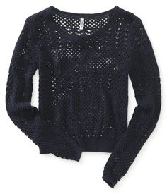 Aéropostale Pretty Mesh Sweater