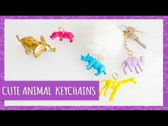 Cute Animal Keychains - HGTV Handmade
