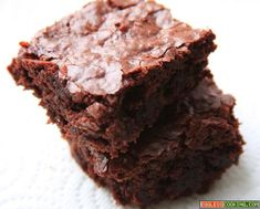 easy eggless brownies