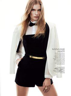 Ilse de Boer for Vogue Turkey April 2013 by Ümit Savaci
