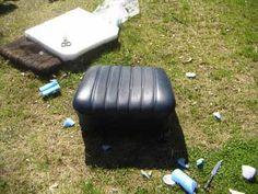 DIY car seat repair